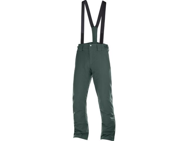 Salomon Stormseason Pants Men green gab